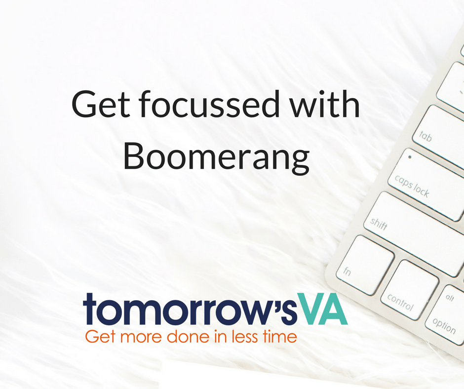 Get focussed with Boomerang