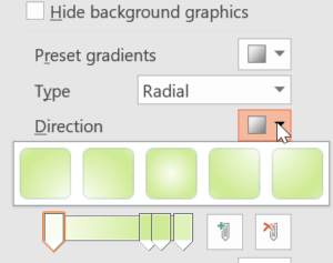 modify slide background