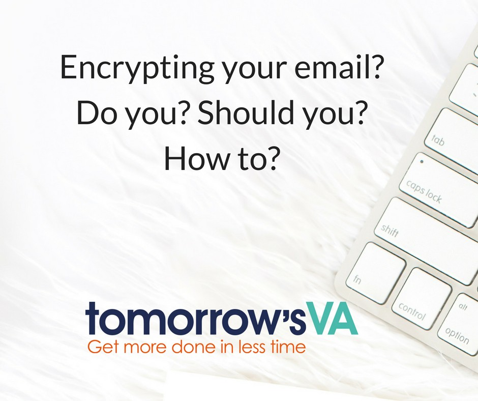 Encrypting your email