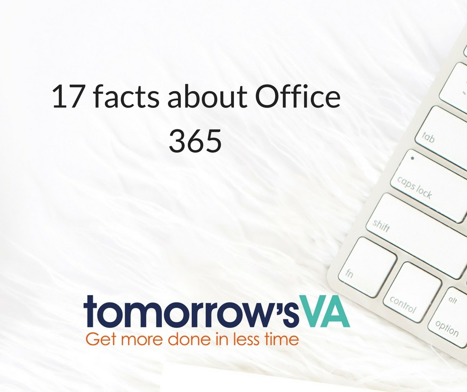 17 facts about Office 365
