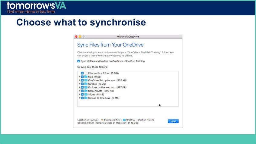 Why you might be struggling with Synchronising OneDrive for
