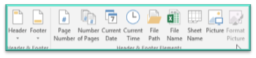 VAs - How to add Headers and Footers in Excel