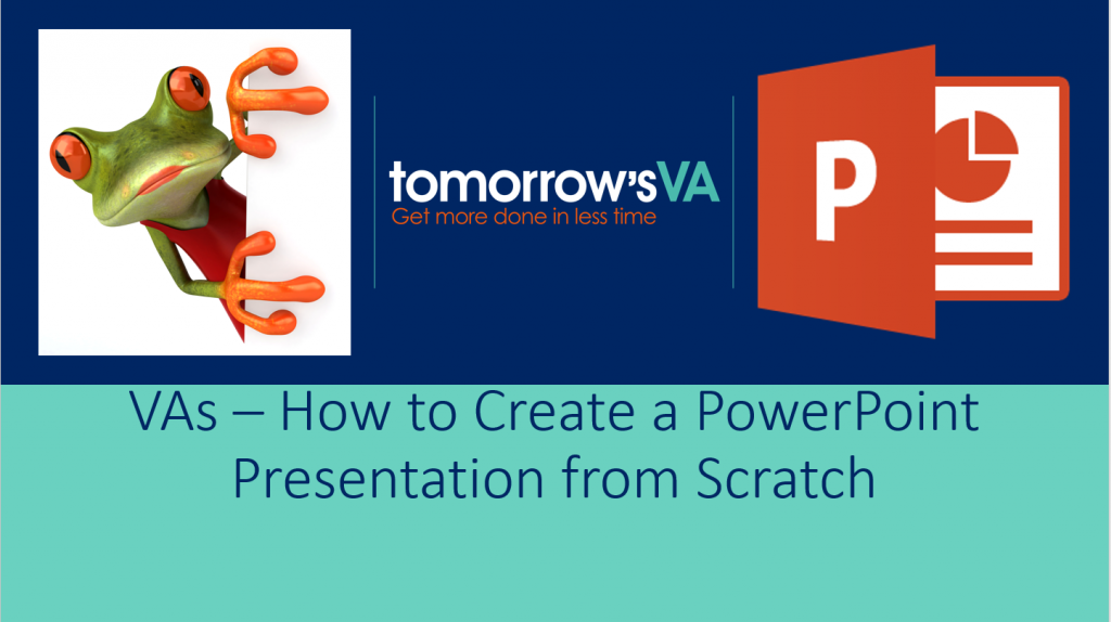 How to Create a PowerPoint presentation from Scratch