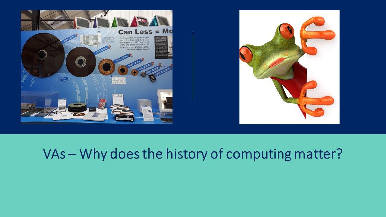 VAs history of computing