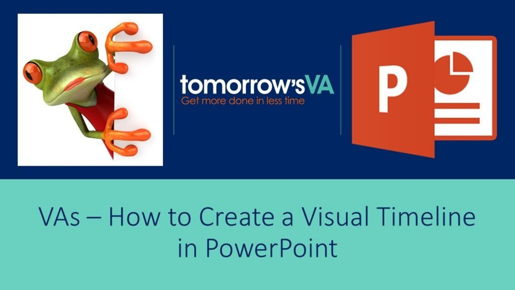 Create a visual timeline in PowerPoint