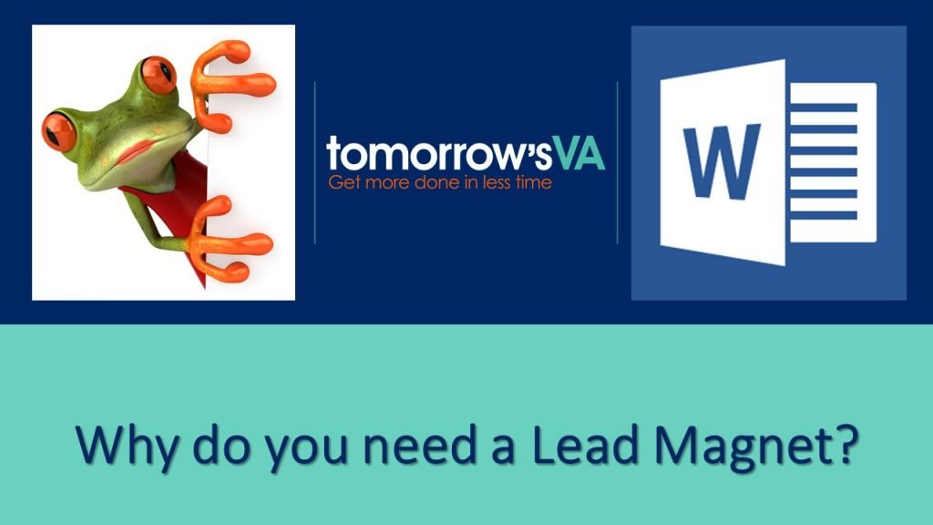 Why do you need a lead magnet