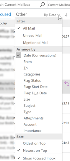 VAs – are you using Conversations in Outlook to save time?
