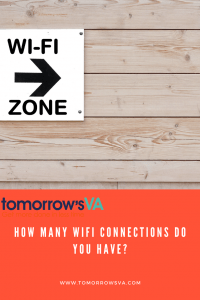 How many WiFi connections do you have?
