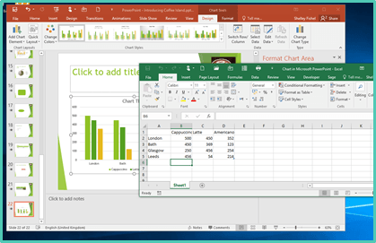 VAs – How to Insert and Format Charts in PowerPoint