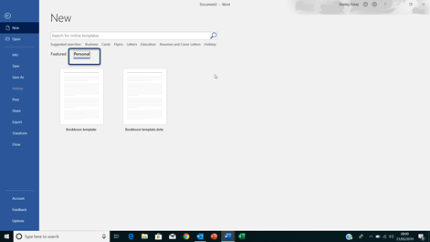 VAs – Create Word Templates to speed things up!