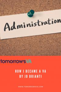 How I became a VA