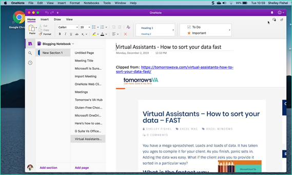 Need to save a Web Page? Try This – The OneNote Web Clipper