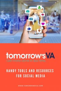 Handy Tools and Resources for Social Media