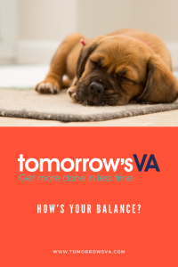How's your balance?