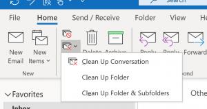 Cleanup Conversation