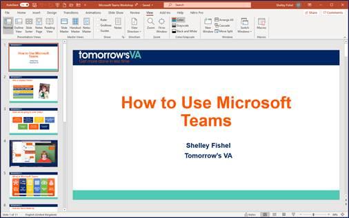 Views in PowerPoint